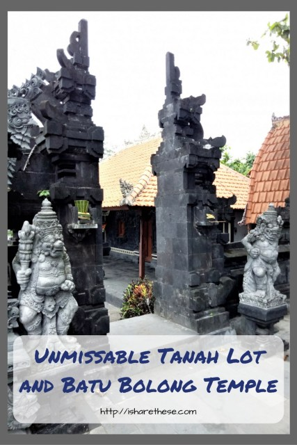 Unmissable Tanah Lot Temple and Batu Bolong Temple