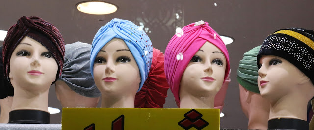 scarves worn on head