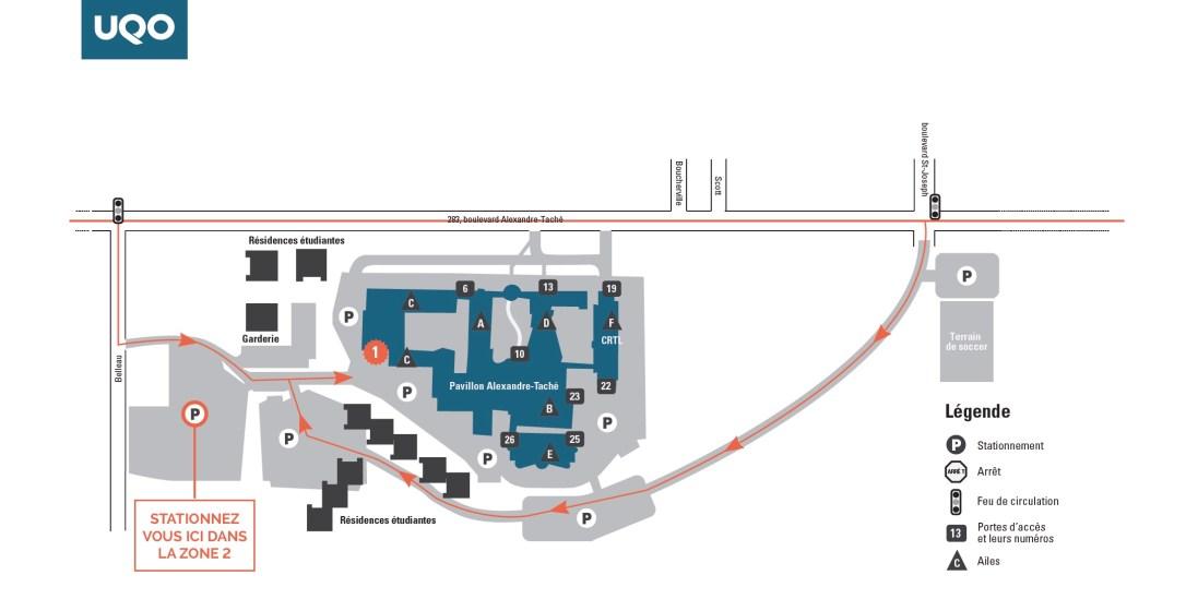 Pavillon Zone 2