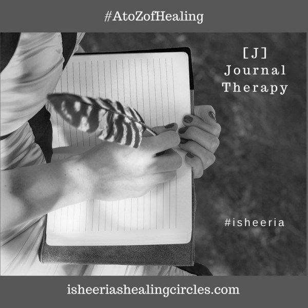 #AtoZofHealing – [J] is for #Journal Therapy – #AtoZchallenge
