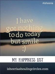 Happiness List