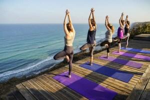 Yoga group classes