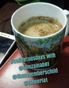 Coffee Tuesdays with isheeria #coffeetuesdays #isheeria
