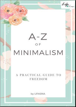 Book Review: A-Z of Minimalism by Upasna #isheeria