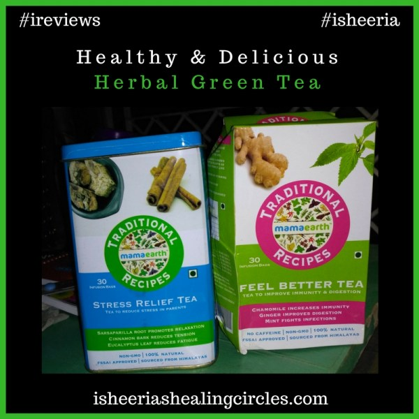 Healthy & Delicious – MamaEarth Green Tea #ireviews #isheeria