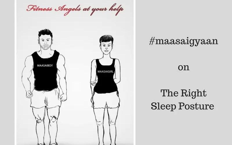 sleep posture maasai fitness isheeria