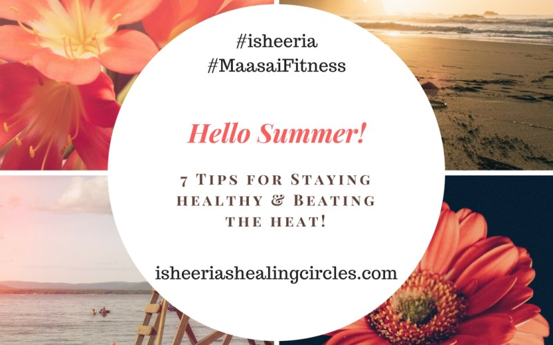 maasai fitness summer tips isheeria