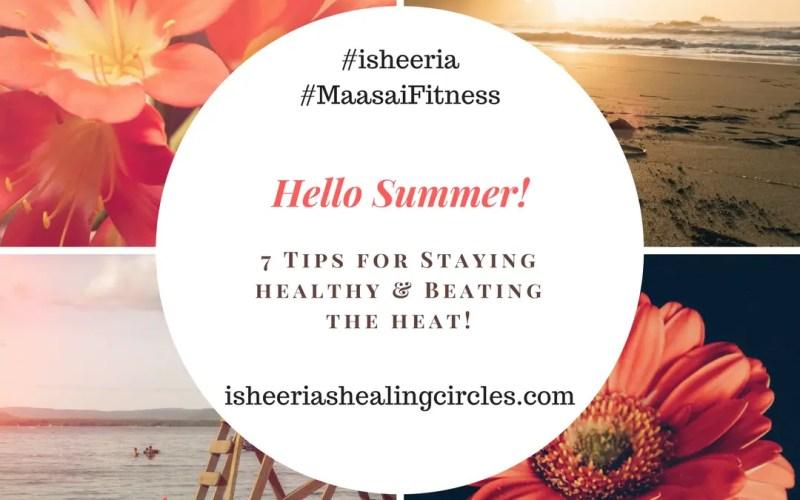 maasai fitness summer tips isheeria