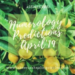 Numerology Predictions April Isheeria