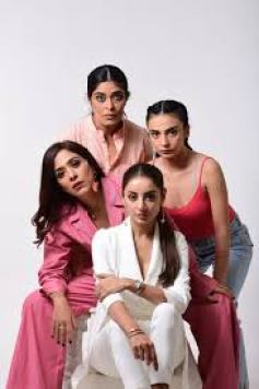A group of strong actors in a women centric show Churails on ZEE5.com  review on isheeria