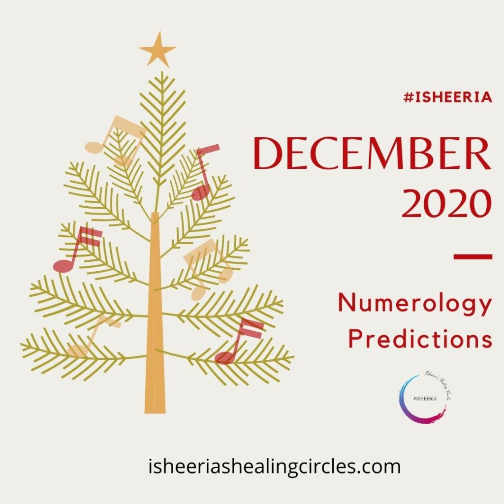 numerology predictions for December 2020 isheeria