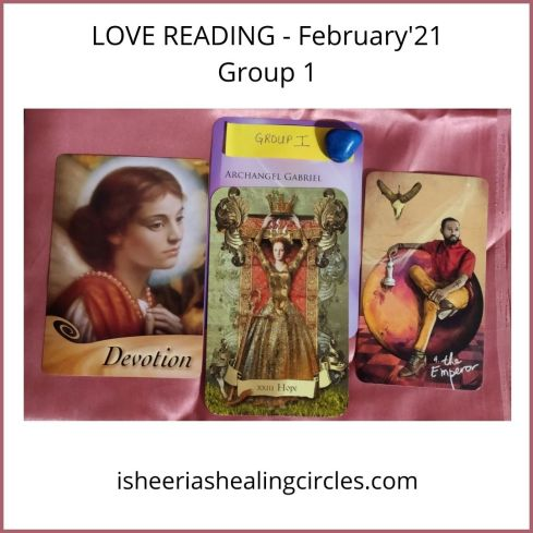 LOVE READING - February'21 Group 1