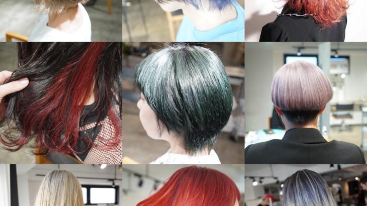 ハイトーンカラーでこだわってる事、髪の素材を見極めた適切なブリーチ塗布&理想の明るさと色味に合わせた無駄のないブリーチ回数