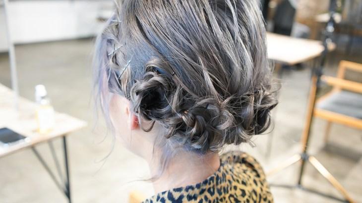 動画で解説。髪の毛でお花を作るヘアアレンジ