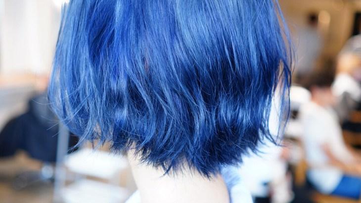 名古屋 ブルー ネイビー 色落ち 綺麗