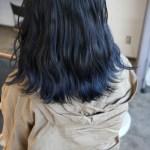 毛先に色味をしっかり入れる裾カラーは境い目のぼかし方が重要!自然なグラデーションカラーに仕上がる毛先のブリーチテクニック
