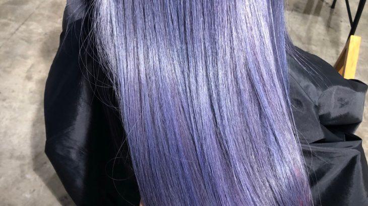 髪色が色落ちすると毎回黄色っぽくなってしまう方へ!ブリーチ毛に紫シャンプー(カラーシャンプー)が必要な理由