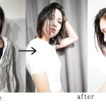 動画で紹介、超ロングからミディアムボブにスタイルチェンジ提案と巻かなくても出来る簡単!なおかつ髪も傷まない!なのにお洒落!!濡れ髪スタイリングのやり方