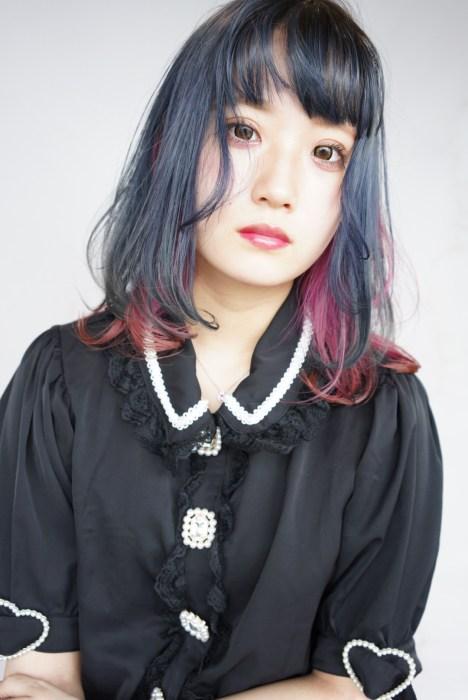 名古屋 美容師 撮影 ハイトーン 上手 得意 デザインカラー