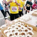 金沢マラソン2016「カツカレー」が登場?!給食所の食べ物は?内容や量など変化は?
