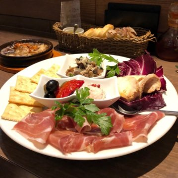 Appetizer platter -HARUTA