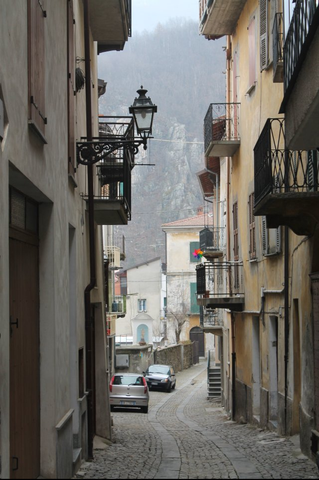 A Cold Afternoon in Ormea, Piemonte