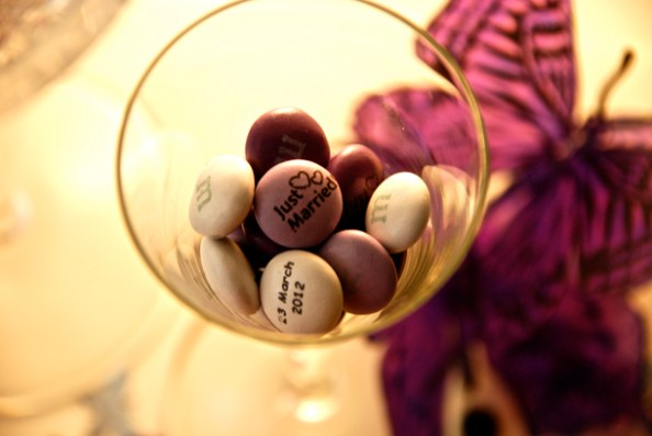 Purple M&Ms & Purple Butterflies