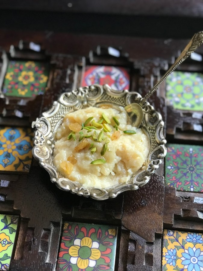 Sheer khurma for Eid