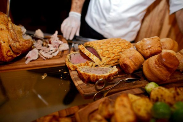 Canadian Heritage Roast Prime Rib of beef with Yorkshire pudding