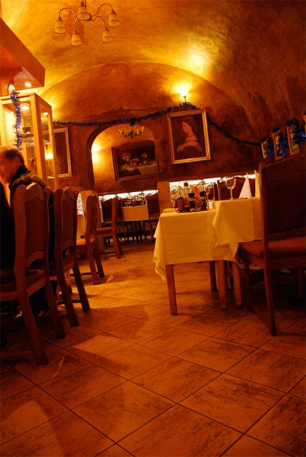 Restaurant U Ševce Matouse in Prague