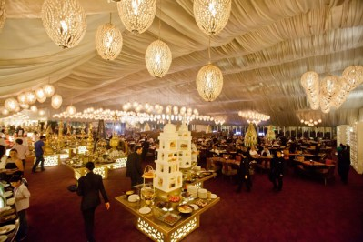 The Ramadan tent at Asateer in The Atlantis