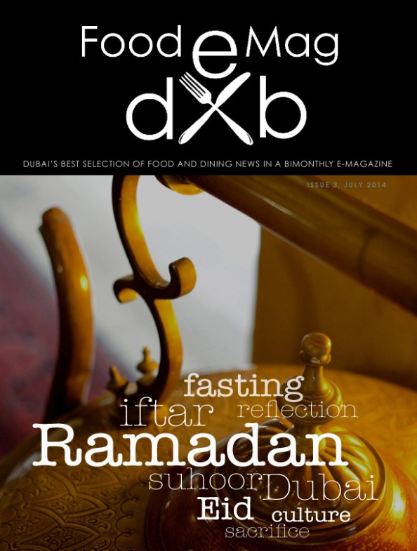 Food e Mag dxb, Ramadan Issue