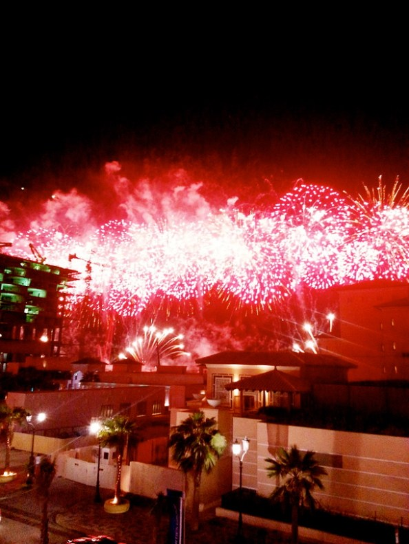 Fireworks in JBR