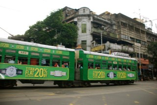 Tram on the roads, Kolkata
