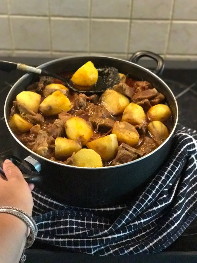Bengali Mutton Curry with Aloo