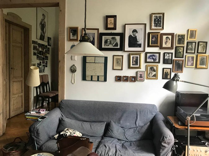 Chef, restauranteur and activist Katarzyna Pilitowska's beautiful apartment in Augustiańska 4/5 str, Krakow