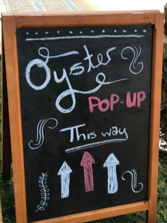 The first pop up by Dibba Bay Oysters