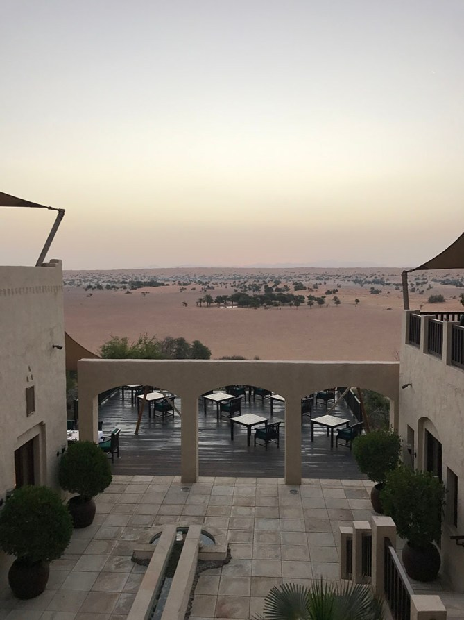 Sunrise at Al Maha Desert Resort & Spa