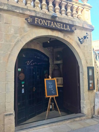 Fontanella Tea Garden in Mdina