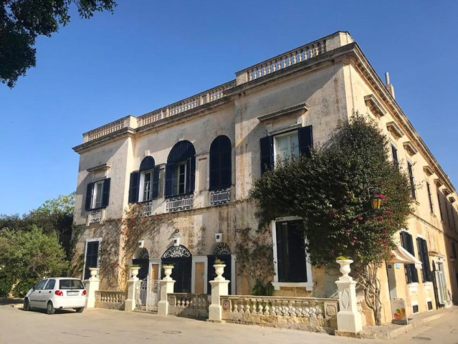 Baroque style house in Mdina