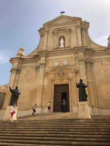 Cathedral of the Assumption in the Cittadella of Victoria in Gozo