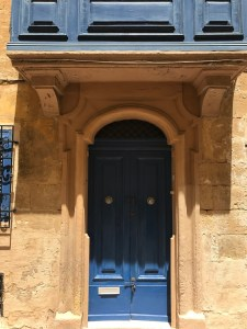 Colourful doors of traditional houses in Birgu
