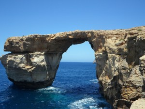 The iconic Azure Window in Gozo