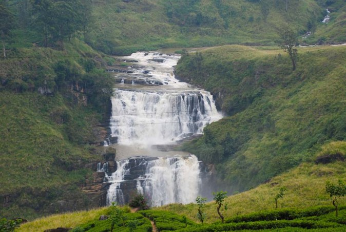 Waterfalls in Srilanka's Hill Country
