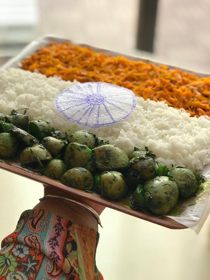 Tricoloured food to celebrate Indian Republic Day
