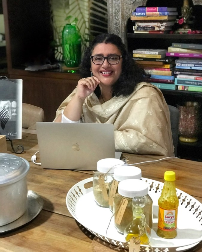 Ishita B Saha, culinary travel author
