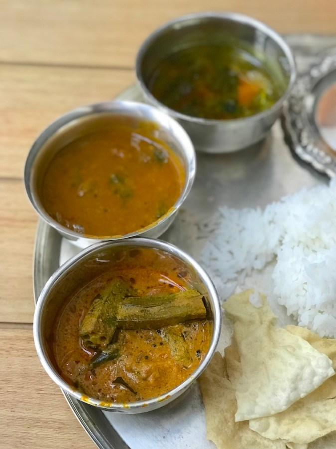 Kara Kulambu, Sambar and Rasam