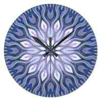 Healing Time Love Energy Wall Clock