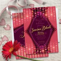 Coral Berry Bridal Girls Party | Invitations