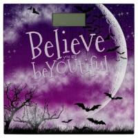 Halloween Moon Believe Inspire Bathroom Scales